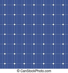 azul, eléctrico, pattern., seamless, vector, panel solar