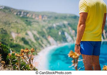 azul, el permanecer, macho, petani, pintoresco, panorama,...