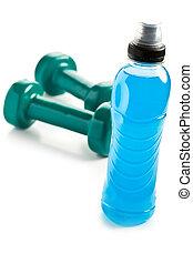 azul, energía, bebida