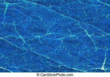 azul, enrugado, papel, antigas, textura