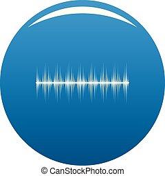 azul, equalizador, vetorial, digital, ícone