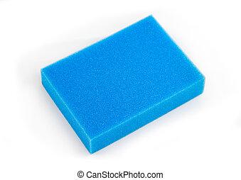 azul, espuma