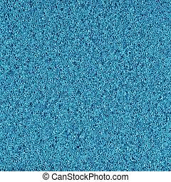 azul, espuma, borracha, textura