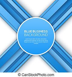 azul, experiência., abstratos, 3d