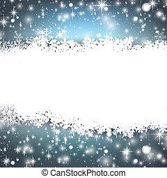 azul, experiência., abstratos, natal