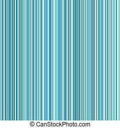azul, experiência listrada