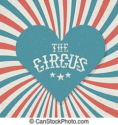 azul, festival, vindima, circo, experiência., vermelho, radie, rays.