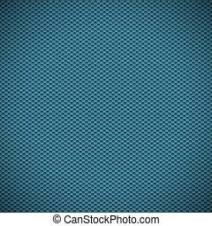 azul, fibra, ilustração, experiência., vetorial, textura, carbono
