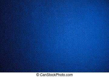 azul, fieltro, plano de fondo