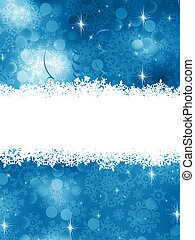 azul, fondo., eps, navidad, 8