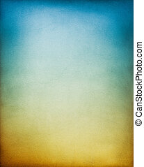 azul, fondo marrón