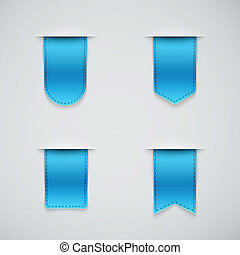 azul, formas, diferente, jogo, fitas