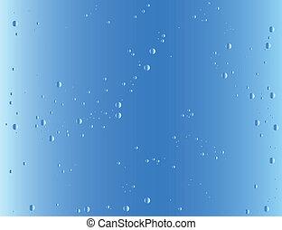 azul, gradiente, fundo