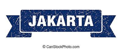 azul, grunge, banda, ribbon., yakarta, señal