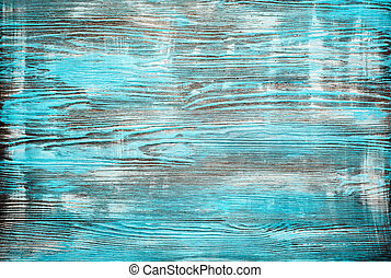 azul, grunge, pintado, textura, experiência., madeira