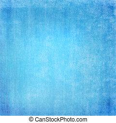 azul, grunge, plano de fondo