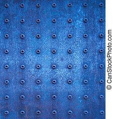 azul, grunge, textura