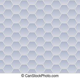 azul, hexagone, seamless