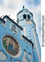 azul, iglesia, bratislava