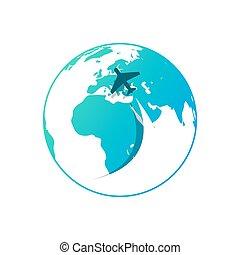 azul, Ilustración,  eps10, globo, flujo, Aire, Plano de fondo,  vector, Plano de fondo, blanco, avión,  vector
