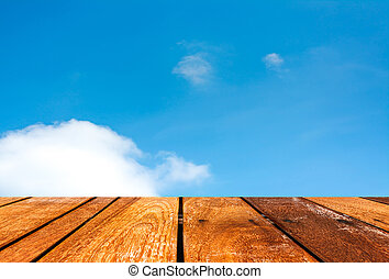 azul, imagen, cielo, plano de fondo, nube blanca