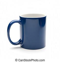 azul, jarra