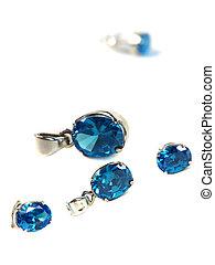 azul, jogo,  gemstones
