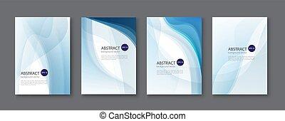 azul, jogo, illustration., abstratos, experiência., vetorial, linha