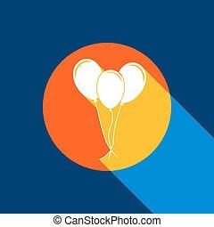 azul, jogo, infinito, tangelo, luz, sinal., círculo, amarela, produced., experiência., luminoso, seletivo, pretas, vector., marinha, branca, fresco, balões, sombra, ícone