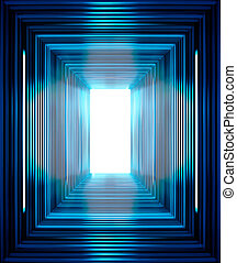 azul, líneas, Plano de fondo