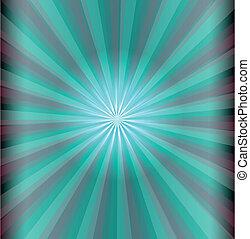 azul, laser, abstratos, luz