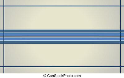 azul, linha