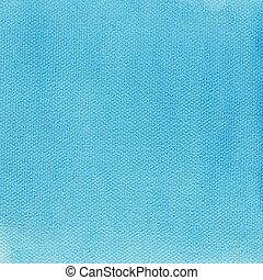 azul, lona, luz, textura, aquarela, fundo