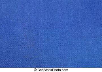 azul, lona, textura