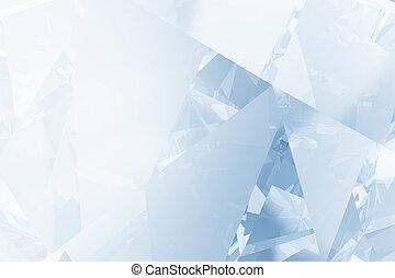 azul, luminoso, natal, fundo