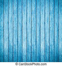 azul, madeira, fundo