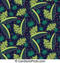 azul, madeiras, abstratos, pattern., escuro, experiência., vetorial, verde, selva, textured