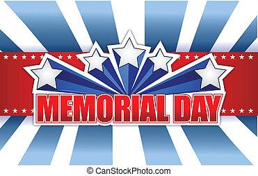 azul, monumento conmemorativo, rojo blanco, día