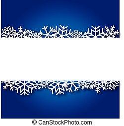 azul, natal, fundo, pape