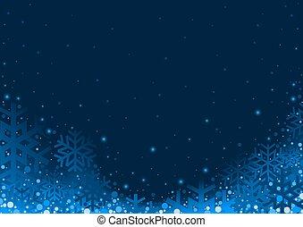 azul, natal, fundo