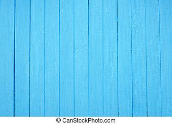 azul, natural, pintado, padrão, pranchas, madeira, fundo, ou, textura