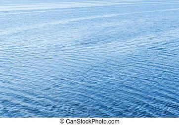 azul, naturel, textura, superfície água, fundo, ou