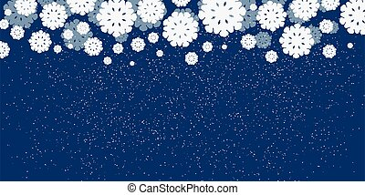 azul, navidad, plano de fondo