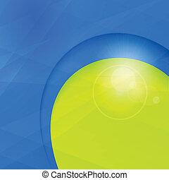 azul, negócio, espaço, projeto abstrato, modelo, verde, cópia
