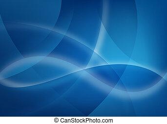azul, negócio, fundo