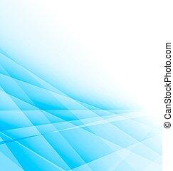 azul, negócio, luz, abstratos, fundo, folheto