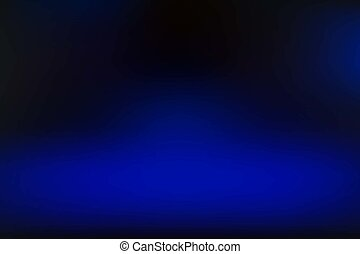 azul, obscurecido, vetorial, fundo