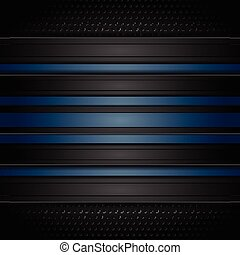 azul, oscuridad, perforado, rayas, plano de fondo
