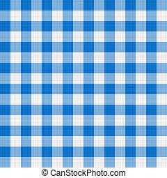 azul, paño de la tabla
