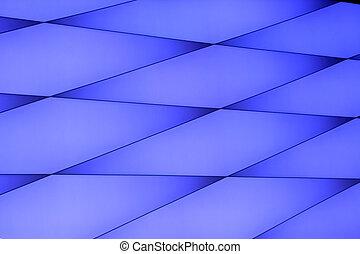 azul, padrão